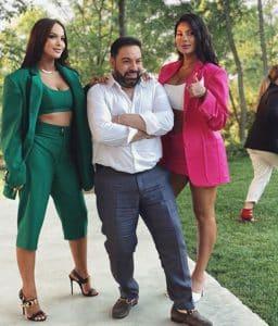 Florin Salam, soția și fiica lui parcă ar fi surori! Imaginea incredibilă
