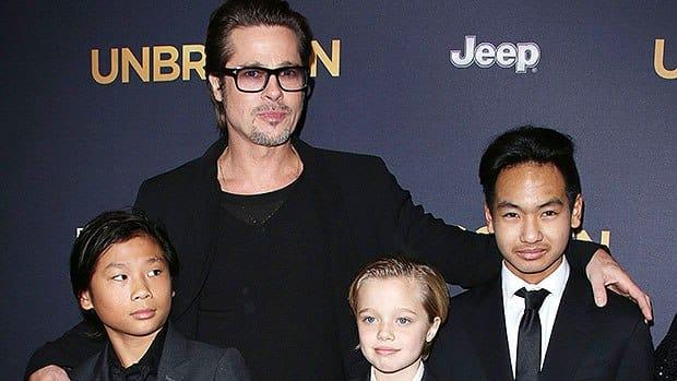 Ce se mai întâmplă între Brad Pitt și fiii săi? Aceștia refuză contactul cu el