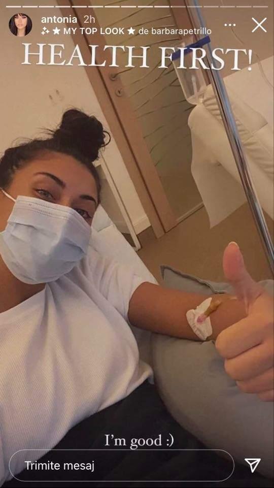"""Antonia a ajuns pe patul de spital! Fanii s-au îngrijorat cumplit. Ce a pățit soția lui Alex Velea: """"Sănătatea"""" / FOTO"""