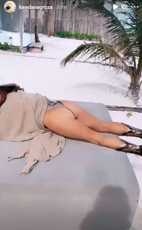 Loredana Groza și-a etalat posteriorul în văzul tuturor! Fanii au rămas muți de uimire / FOTO