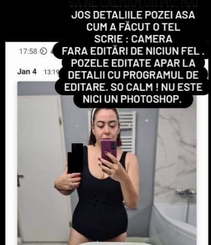 """Oana Roman a apărut în body pe Instagram, iar fanii au criticat-o grav! """"Să ne calmăm"""" / FOTO"""