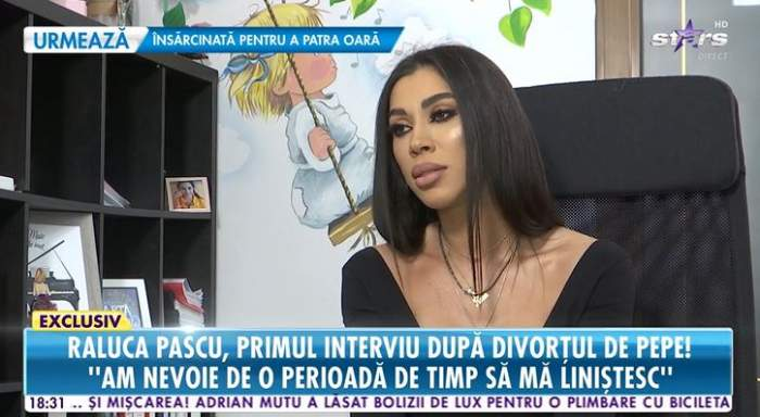 """Raluca Pascu, detalii deștiute despre divorțul de Pepe și cum a reușit să se vindece de durere! """"Erau zile când nu mâncam deloc"""""""