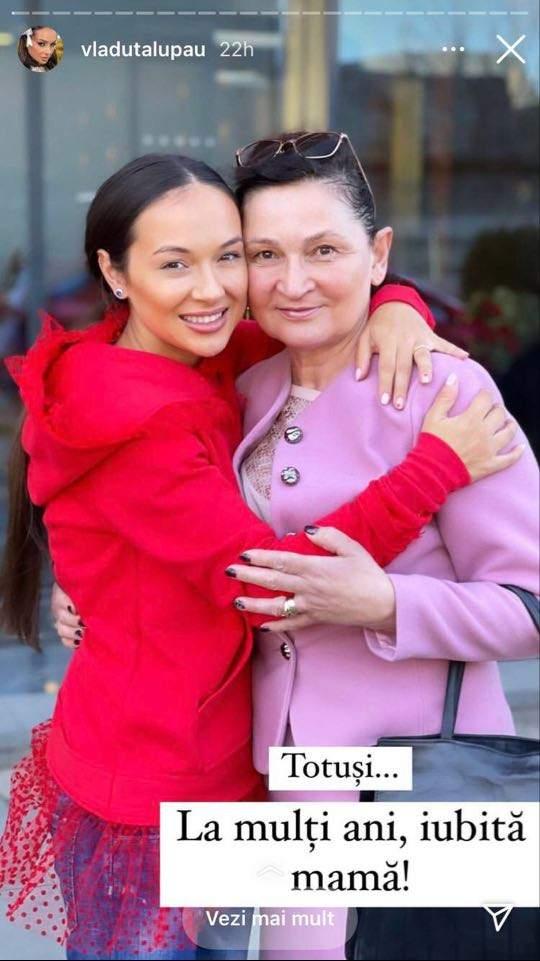 Vladuța Lupău seamănă leit cu mama ei! Fanii au felicitat-o / FOTO