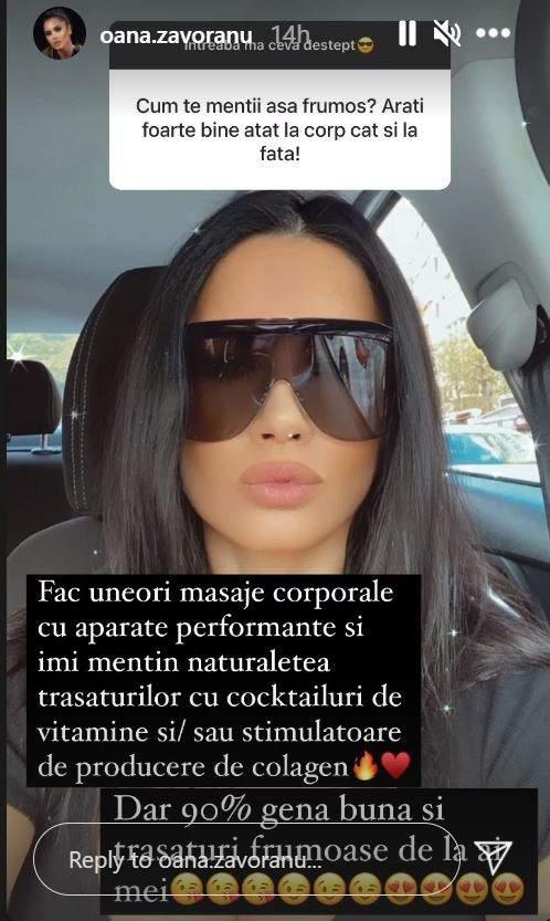 Oana Zăvoranu are sau nu operații estetice? Abia acum a dat cărțile pe față? / FOTO