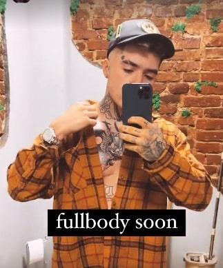 """Lino Golden are un nou tatuaj: """"În curând, tot corpul"""" / FOTO"""