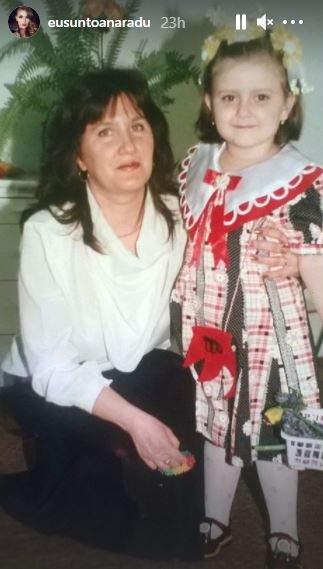 Așa arată mama Oanei Radu! Imaginea care i-a emoționat pe fani / FOTO