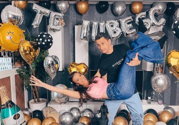Denisa Hodișan, surpriză de proporții pentru soțul său, Flick. Cum l-a așteptat soția acasă pe domnul Rimă / FOTO