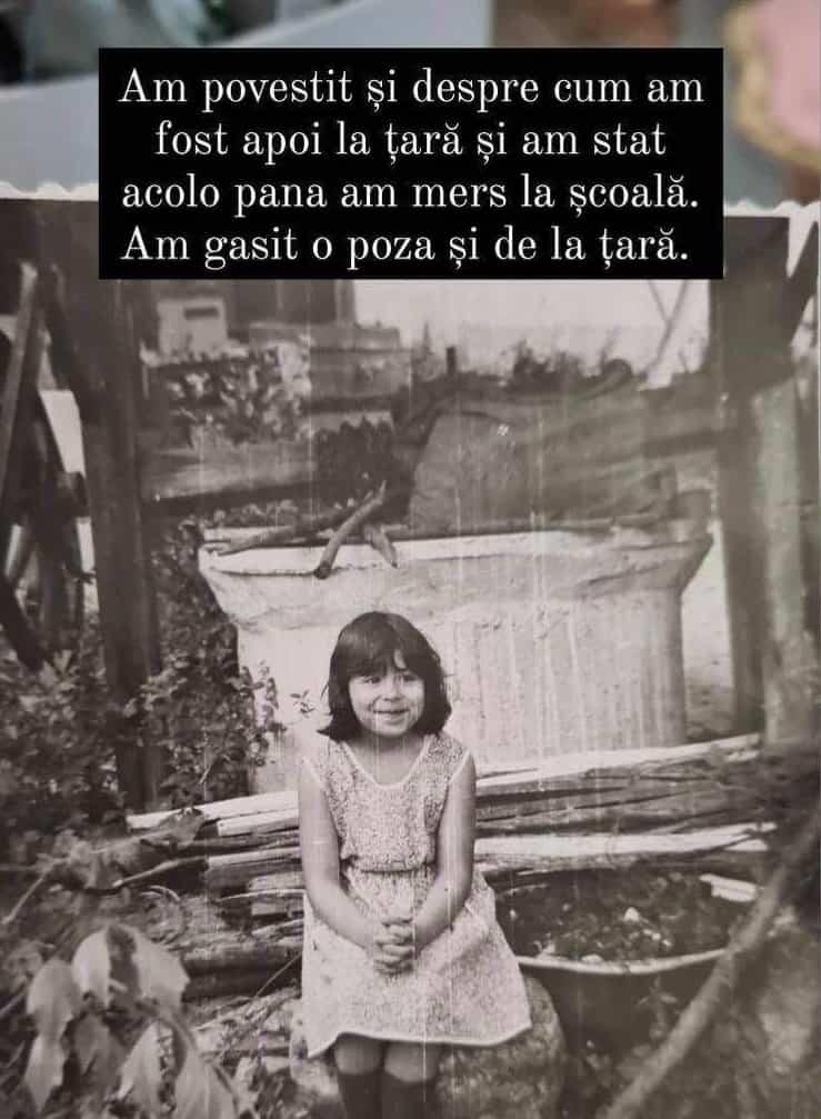 Oana Roman, imagini rare din copilărie! Cât de mult s-a schimbat vedeta / FOTO