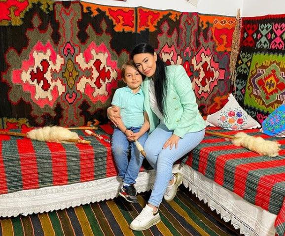 """Andreea Mantea, fotografie emoționantă alături de David, fiul ei: """"Sunt mândră tare de puiul meu"""" / FOTO"""