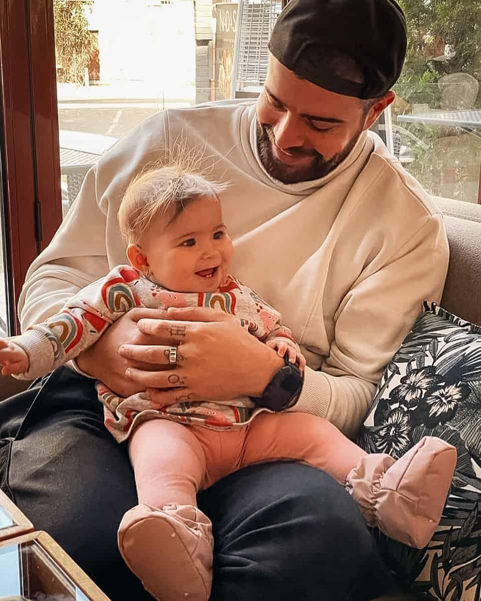 Speak, gata să devină tată pentru prima dată. Uite imaginea care l-a dat de gol pe iubitul Ștefaniei