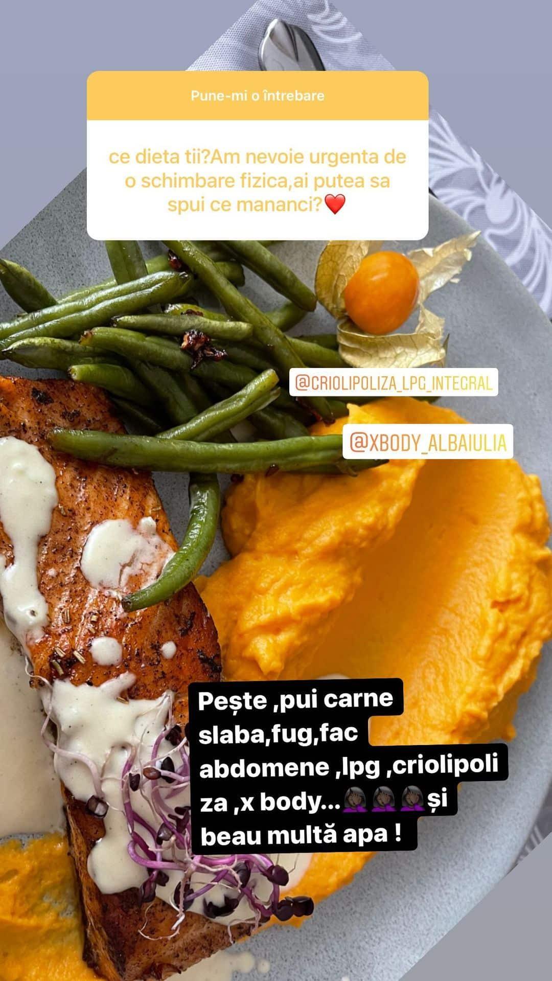 Care este dieta pe care o urmează Carmen de la Sălciua! Vedeta a spus cum reușește să se mențină în formă